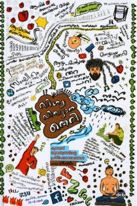 Front cover of വിശ്വ വിഖ്യാത തെറി - ക്യാമ്പസ് യുവത്വത്തിന്റെ പ്രതിഷേധാരവങ്ങൾ